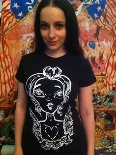 I Have Your Heart t-shirt via Etsy by Molly Crabapple