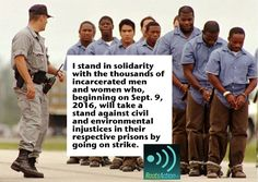 Stand in Solidarity with Prisoners Striking for Human Rights. Take Action w @Roots_Action