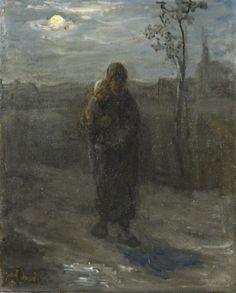 Jozef Israëls - Maannacht