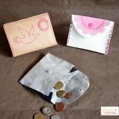 Kinder Geldbörse leicht zu nähen gratis Schnittmuster