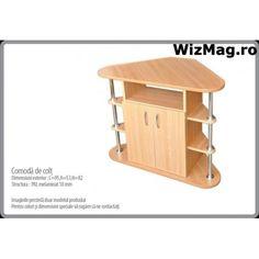 Comoda pentru colt WIZ 0049 Magazine Rack, Stool, Cabinet, Storage, Furniture, Home Decor, Clothes Stand, Purse Storage, Decoration Home