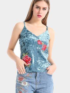 3db82e564de2d8 CHSDCSI 2017 New Fashion Summer Women Blouses Top Sleeveless Printing Blusas  Strappy Velvet V-neck Shirt Feminina Tops Shirts
