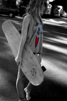 I want to go longboarding!