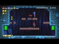 New Super Mario Bros. U - (Co-op) Acorn Plains-1 | Acorn Plains Way Star Coins