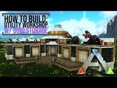 Ark Survival Evolved Bases, Game Ark, No Man's Sky, Workshop, Entertaining, Storage, Minecraft, Video Game, Gate