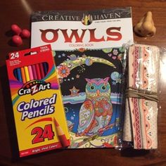 Free: NEW OWLS ADULT COLORING BOOK ~ TIERED AUCTION ~ NO GIN ~ FREE S/H - Scrapbooking & Paper Crafts - Listia.com Auctions for Free Stuff