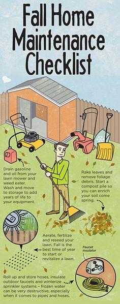 Fall Home Maintenance Checklist   eHow Home