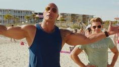 Baywatch first trailer: The Rock versus Zac Efron...and slow-motion running in swimsuits.