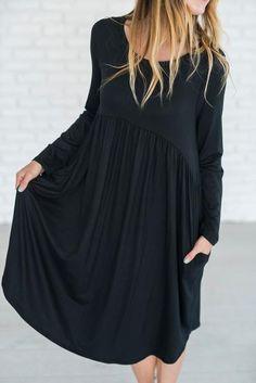Kelsey Dress - Black