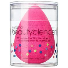 Beauty Blender - the hype is real, love this for blending foundation.