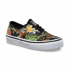 Vans Kid's Authentic Shoes Disney the Jungle Fashion Sneakers (13.5). Size: 13.5. Color: Black. Gender: Kids, Youth. Brand: Vans. Style: VN00018RHST.