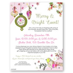 Mary kay holiday invitations google search mary kay custom mary kay holiday flier this entire flier is customizable leaving you endless stopboris Gallery
