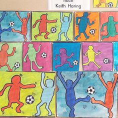 Wonderful Absolutely Free first day of preschool hairstyles Style You will have. Keith Haring, Pop Art, Creating A Business, Credit Card Application, Chalk Art, Student Work, Fourth Grade, How To Take Photos, Elementary Schools