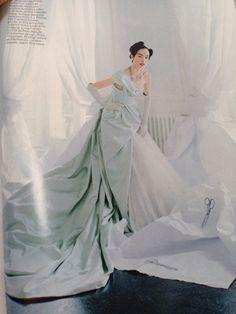 Fei Fei Sun in Alexander McQueen, Vogue May, 2014.