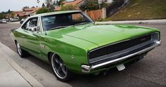 Oustanding V10 Powered 1968 Dodge Charger Custom