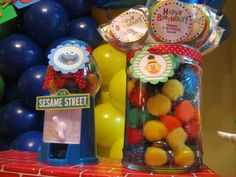 Sesame Street Birthday Party Ideas | Photo 1 of 8 | Catch My Party