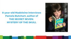 An Interview with Pamela Butchart The Secret Seven, 8 Year Olds, Mystery, Interview, Author, Reading, Writers, Reading Books