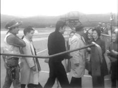 (78) 1962 Actor Michael Landon and singing star Betty Johnson arrive at Woodrum Field Airport - YouTube