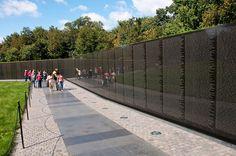 Vietnam Memorial ... No, freedom ISN'T free!!!