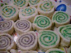 Swirly sandwiches