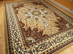 persian style rug 8x11 beige brown rug 8x10 area rug living room carpet 8u0027x11