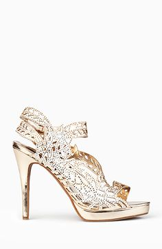 Grecian Slingback Heels
