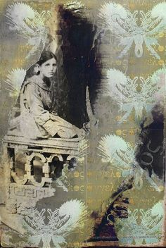 mixed media artists | Mixed Media Art by Nukuzu | Collage and Mixed Media