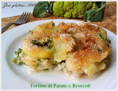 Che bontà il Tortino di patate e broccoli filante e cremoso.Molto semplice da realizzare,ma di grande impatto,il Tortino di patate e broccoli è talmente ri