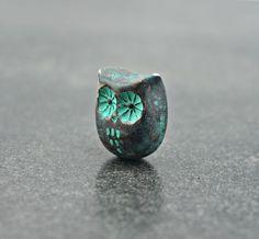 Rustic Owl Bead £3.00