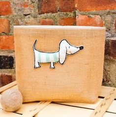 Hey, I found this really awesome Etsy listing at https://www.etsy.com/listing/235966406/dog-toys-basket-large-jute-hessian