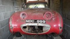 Property of a deceased's estate; One owner for the last Austin-Healey Sprite 'Mark I' Roadster Project Registration no. 354 CDV Chassis no. 21732 Engine no. Austin Healey Sprite, Mg Midget, Barn Garage, Rusty Cars, First Car, Barn Finds, Mk1, Motor Car, Cool Cars