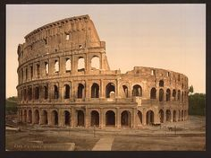 [Exterior of the Coliseum, Rome, Italy] (LOC) by The Library of Congress, via Flickr