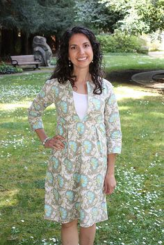 Schoolhouse Tunic altered into dress