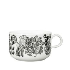 Arabia Finland Piilopaikka Metsä / Metsa Cup l, by Piia Keto Carlton Ware, Indian Crafts, Pottery Sculpture, Cool Mugs, Ceramic Cups, Marimekko, Ceramic Painting, Scandinavian Design, Nordic Design