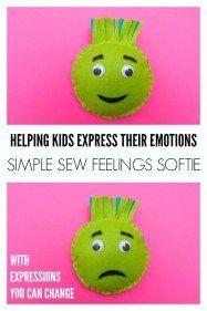 Simple Sew Feelings Softie: Exploring Big Emotions with Kids