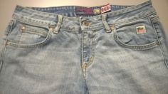 Original Vintage ROY ROGER'S. 1990s Light Blue Jeans for women. Made in Italy di RCClo su Etsy