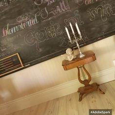 God morning! #sunshine #sunday #vintage #furniture #handmade #angel #antique #sybord #skönahem #levaochbo #bukowskis #antikvitet #kandelaber #cervera #chalkboard #oldschool #svartatavlan #interior12follow