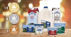 Humboldt Creamery scoops up all the medals at the 2017 Los Angeles International Dairy Competition, which identifies the finest products within the global dairy industry. Every product we entered won a metal – 13 gold's, 4 silvers, and 1 bronze. See the full list of winners below!
