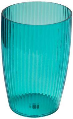 Carnation Home Fashions Ribbed Acrylic Wastebasket, Cerulean Blue Carnation Home Fashions http://www.amazon.com/dp/B007VMBQV2/ref=cm_sw_r_pi_dp_51xmwb1APGVP6