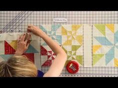 Wishes Quilt Along - Finishing the Quilt - Fat Quarter Shop - YouTube
