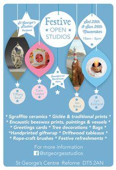 open festive studios Portland Dorset