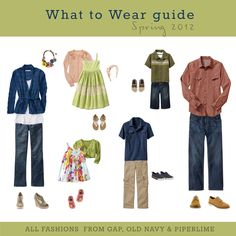 I created this page to help my clients. Deciding what to wear IS the hardest choice to make when it comes to your session. I hope it helps!