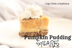 Chai Loaf, Pumpkin Squares and Tasteful Tuesday Party |www.nap-timecreations.com