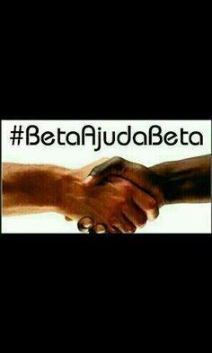 De um repin, vamos nos ajudar Beta!#Beatajudabeta