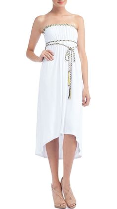 {Faith Dress, White} by Soul Revival - sweet & ethereal; very Aphrodite! :)