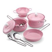 Toy Cookware Set - Pink