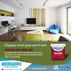 #berger #bergerpaintpakistan #bergerpaint #color #paint #decor #homedecor