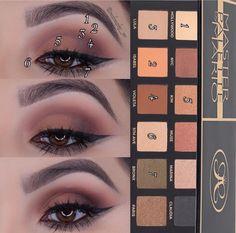 Makeup By Mario Palette, Bridal Eye Makeup, Makeup Guide, Makati, All Things Beauty, Eyeshadow Palette, Beauty Hacks, Beauty Tips, Make Up
