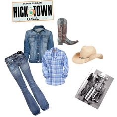 Concert outfit for Jason Aldean, created by renee-marie-dingus-kennedy on Polyvore