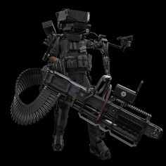 Rocketumblr — morphial: CPER Soldier by Kun Dong